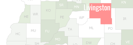 Livingston County Map