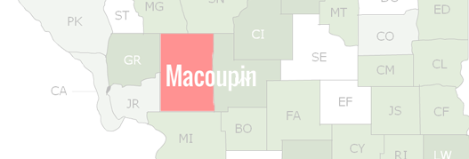 Macoupin County Map