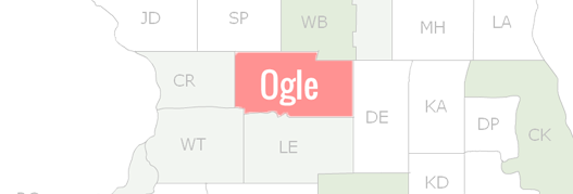 Ogle County Map
